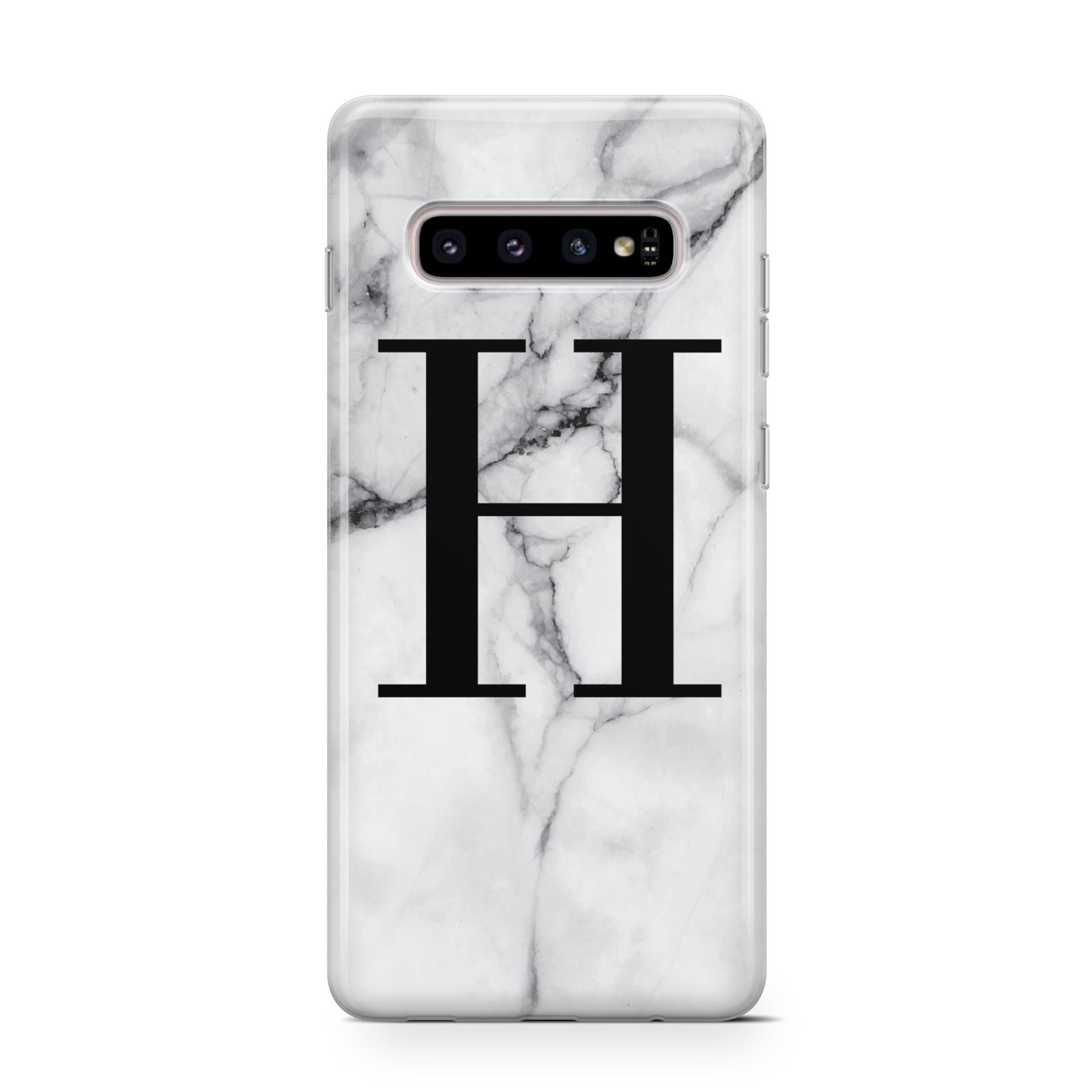 Personalised Monogram Marble Initial Samsung Galaxy Case Dyefor