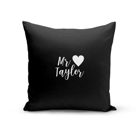 Personalised Mr Cushion