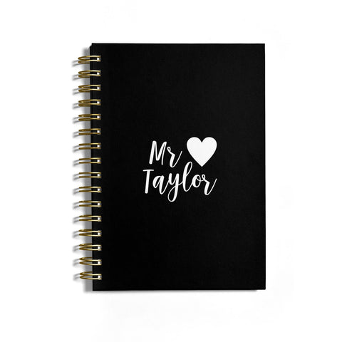 Personalised Mr Notebook