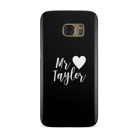 Personalised Mr Samsung Galaxy Case