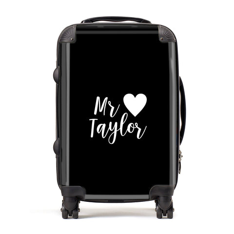 Personalised Mr Suitcase