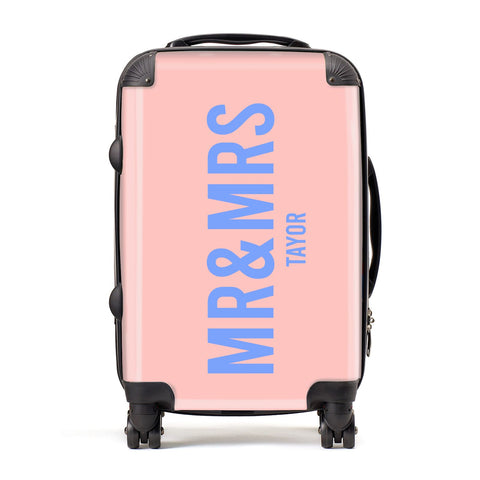 Personalised Mr and Mrs Suitcase