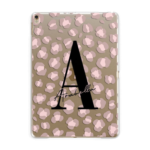 Personalised Nude Pink Leopard iPad Case