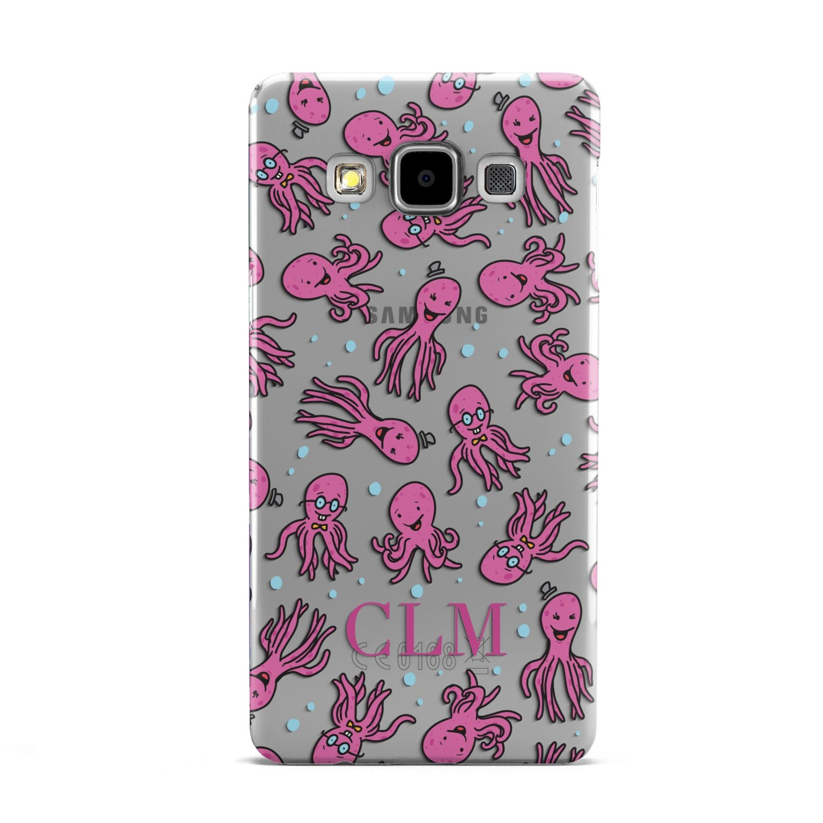 Personalised Octopus Initials Samsung Galaxy A5 Case