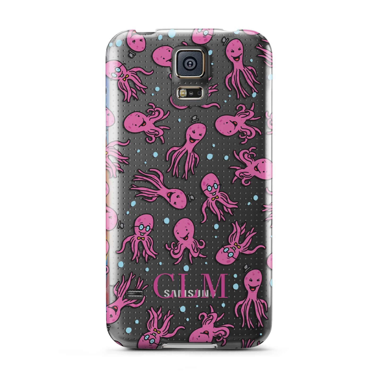 Personalised Octopus Initials Samsung Galaxy S5 Case