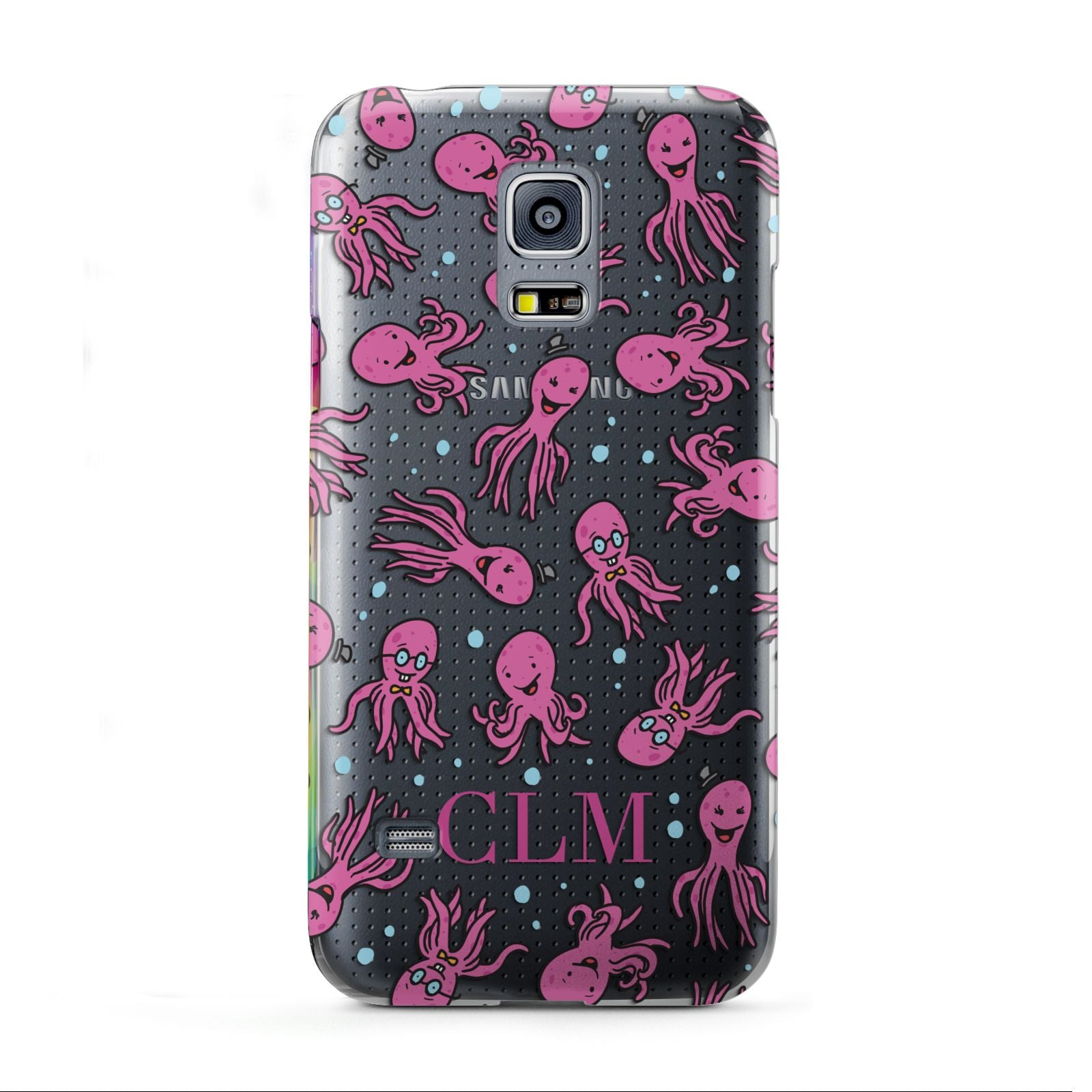 Personalised Octopus Initials Samsung Galaxy S5 Mini Case