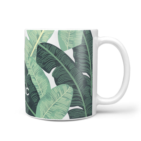 Personalised Palm Banana Leaf Mug