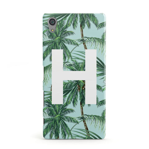 Personalised Palm Tree Tropical Sony Case
