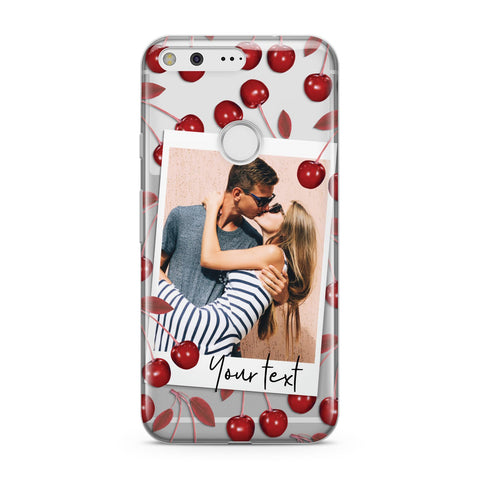 Personalised Photo Cherry Google Case