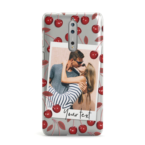 Personalised Photo Cherry Nokia Case