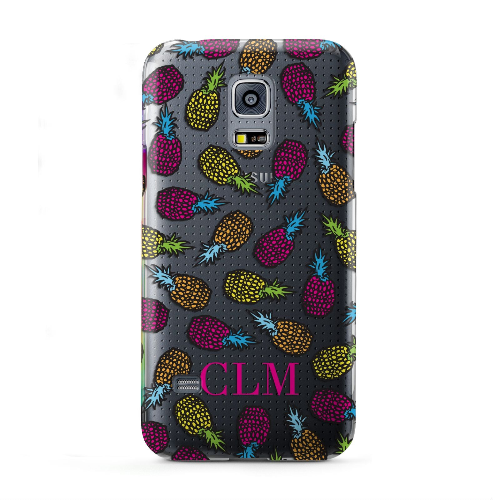 Personalised Pineapples Initials Samsung Galaxy S5 Mini Case