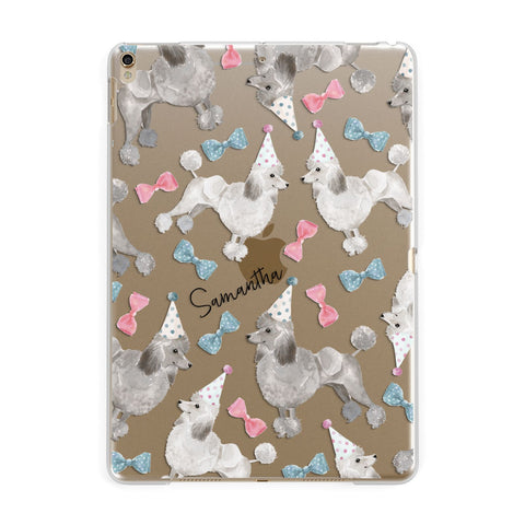 Personalised Poodle Dog iPad Case