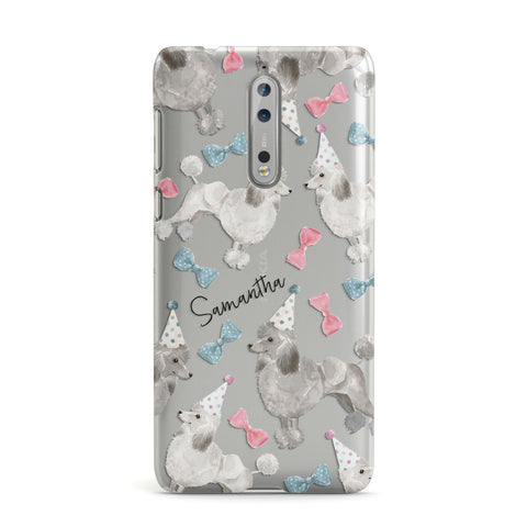 Personalised Poodle Dog Nokia Case