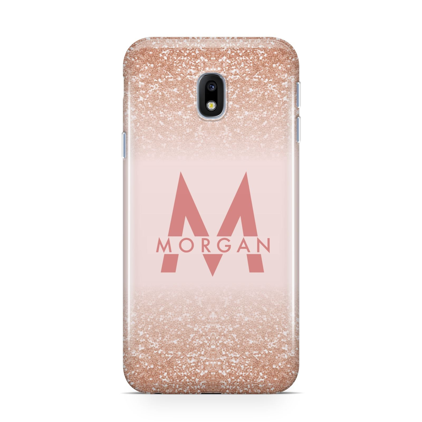 official photos 1a7e1 4700d Personalised Printed Glitter Name Initials Samsung Galaxy Case