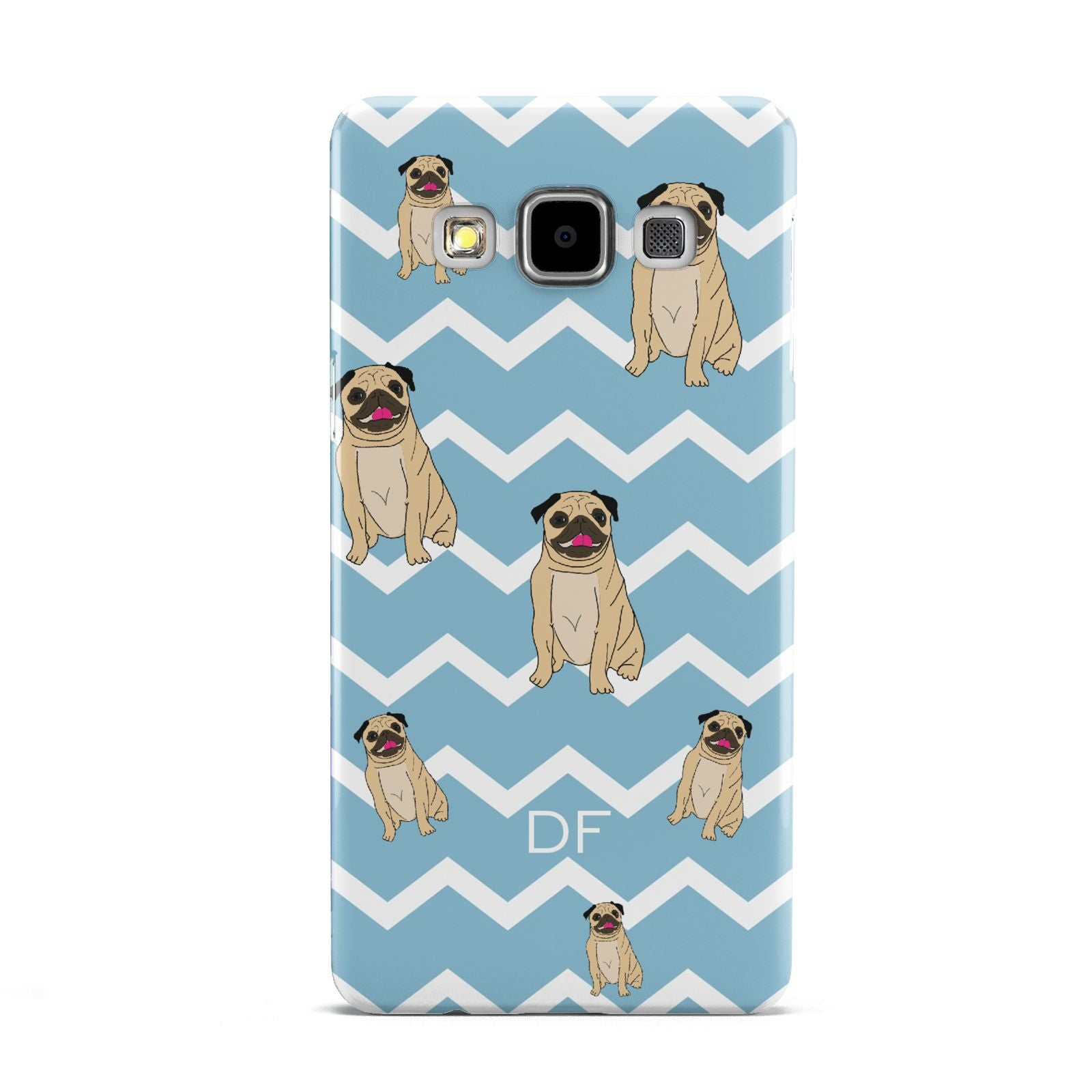 Personalised Pug Initials Samsung Galaxy A5 Case