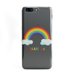 Personalised Rainbow Name OnePlus Case