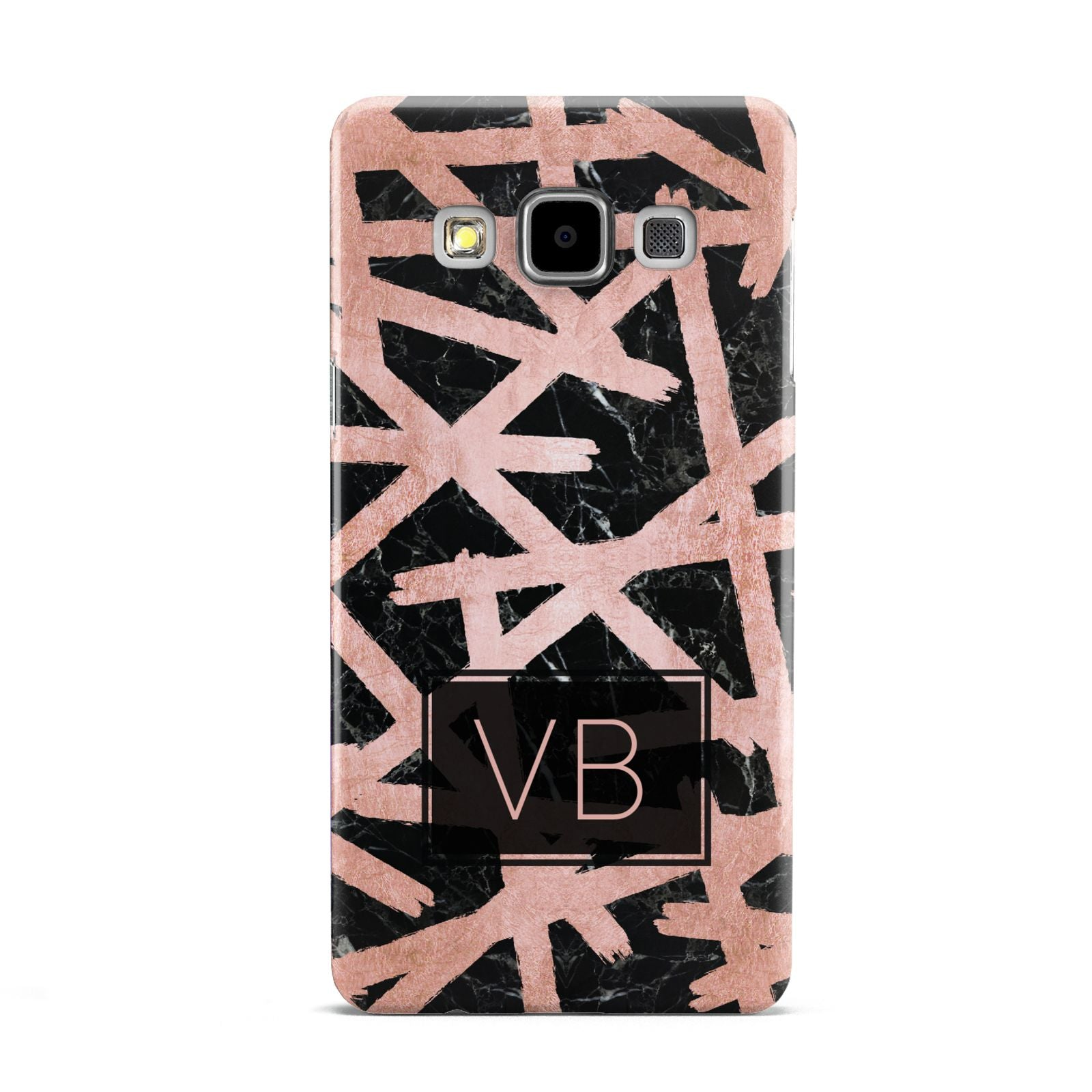 Personalised Rose Gold Effect Samsung Galaxy A5 Case