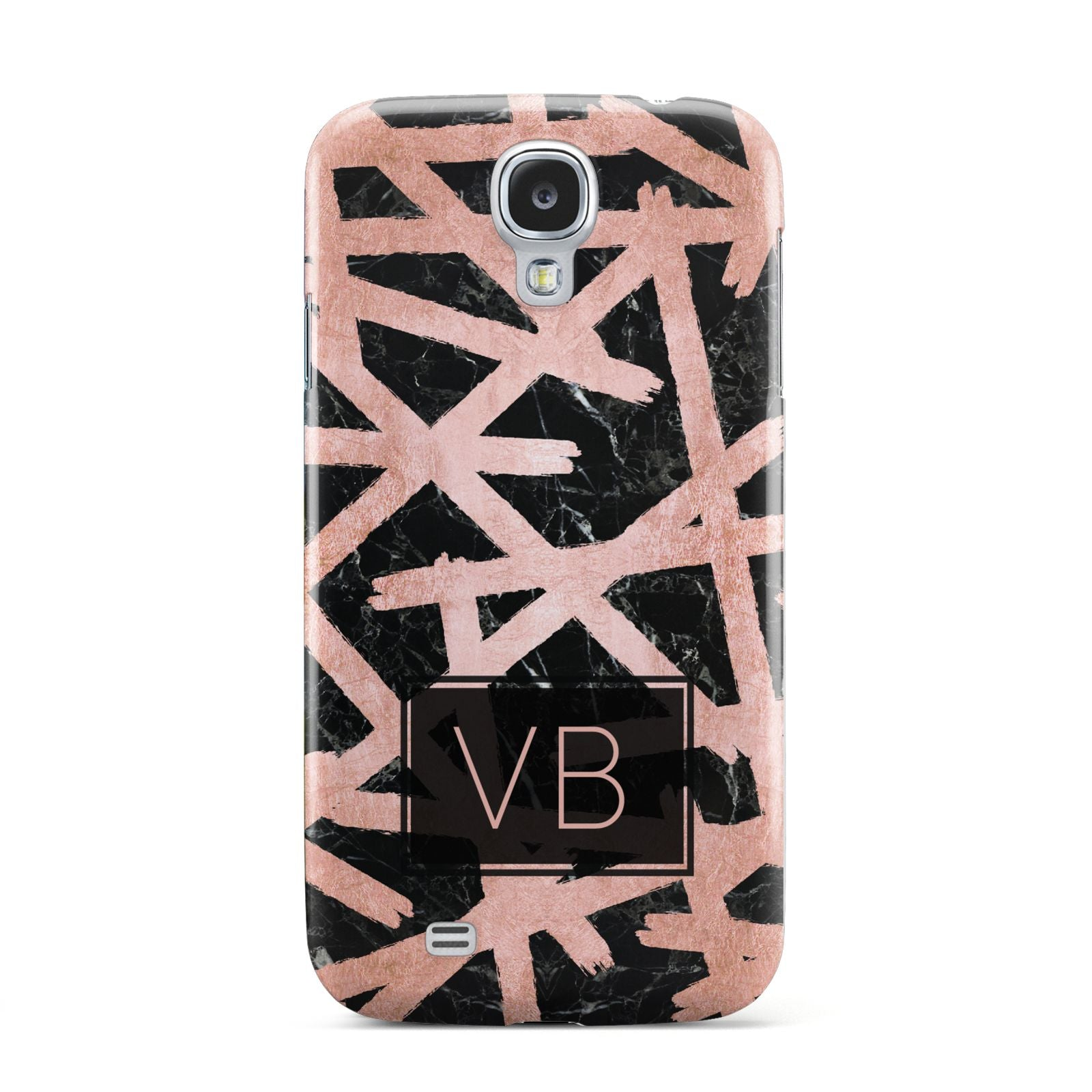 Personalised Rose Gold Effect Samsung Galaxy S4 Case