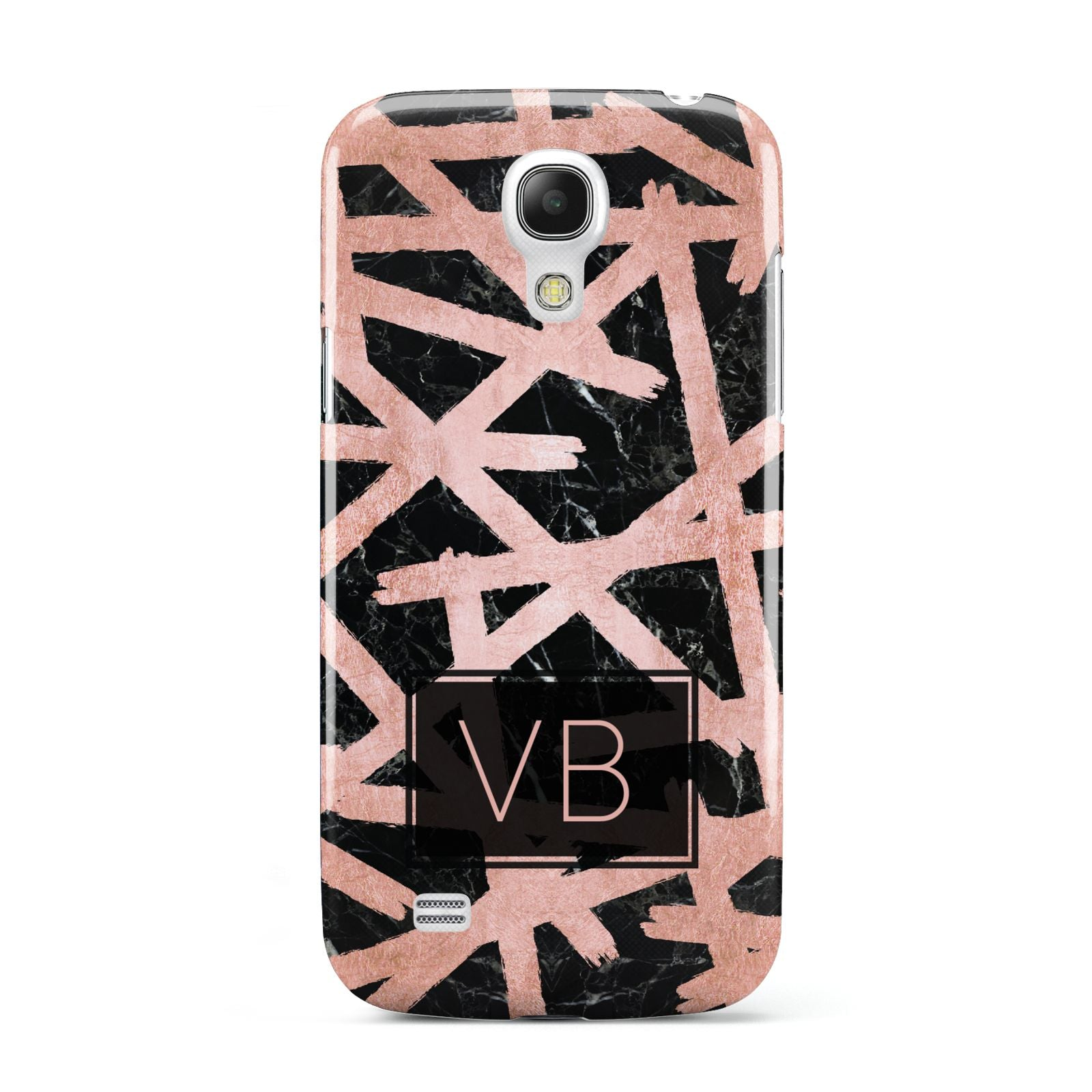 Personalised Rose Gold Effect Samsung Galaxy S4 Mini Case