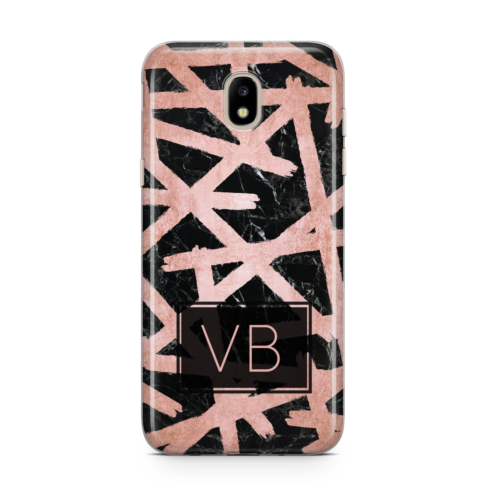 Personalised Rose Gold Effect Samsung J5 2017 Case
