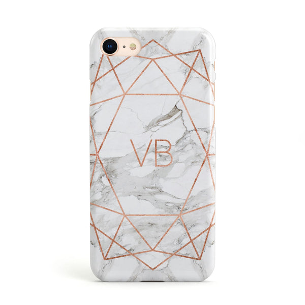 initial marble phone case iphone 7