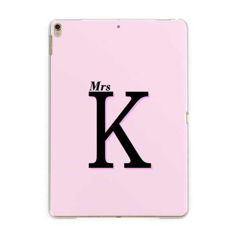 Personalised Single Initial iPad Case