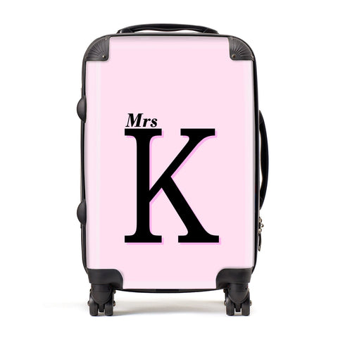 Personalised Single Initial Suitcase
