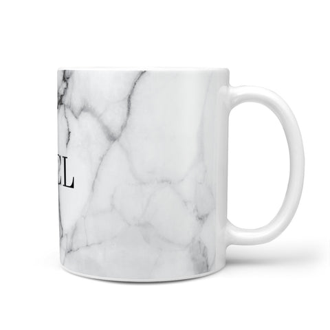 Personalised Small Marble Initials Custom Mug
