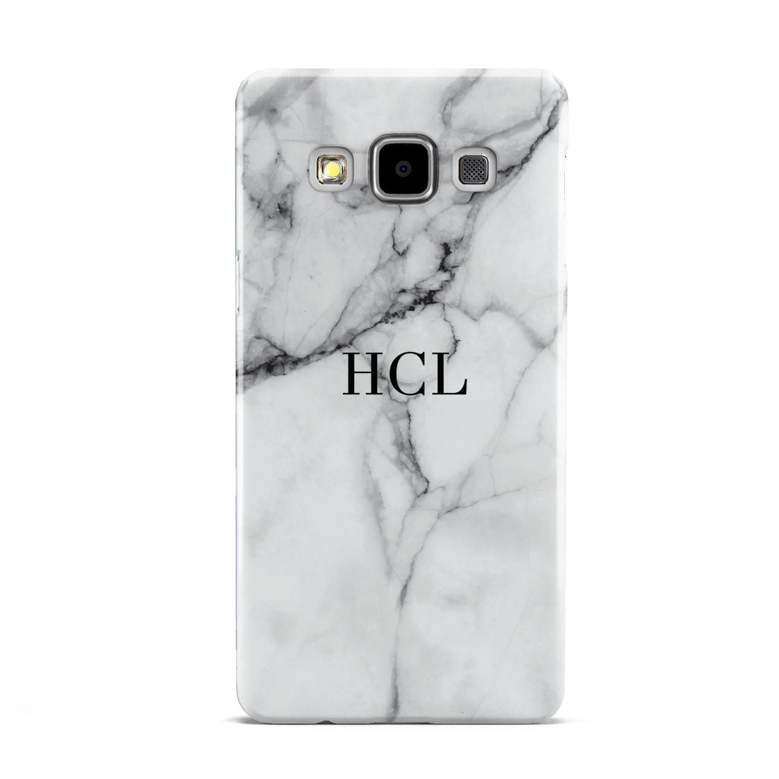 Personalised Small Marble Initials Custom Samsung Galaxy A5 Case