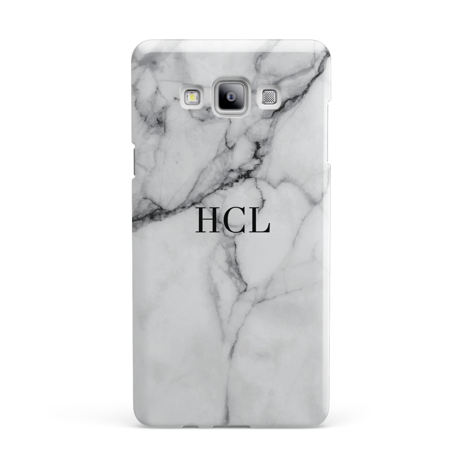 Personalised Small Marble Initials Custom Samsung Galaxy A7 2015 Case