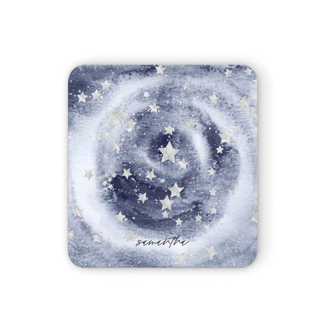 Personalised Space Coasters set of 4