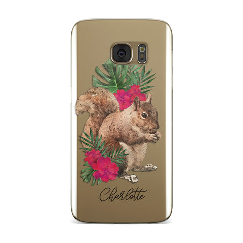 Personalised Squirrel Samsung Galaxy Case