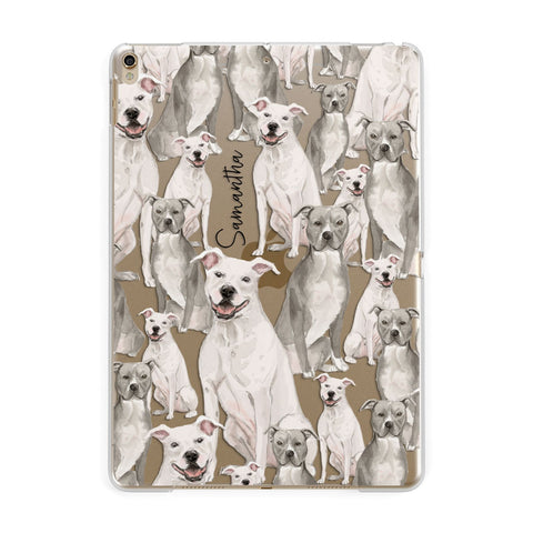 Personalised Staffordshire Dog iPad Case