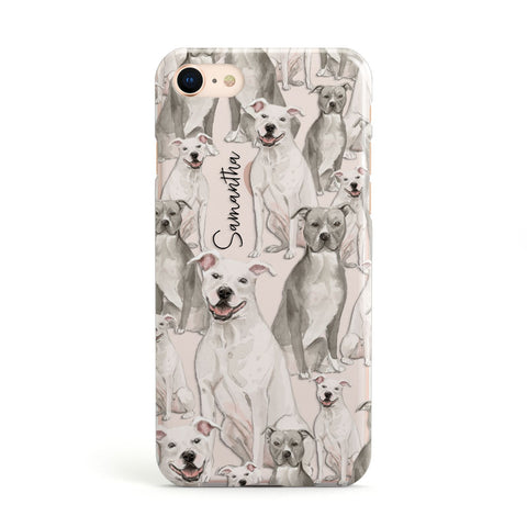 Personalised Staffordshire Dog iPhone Case