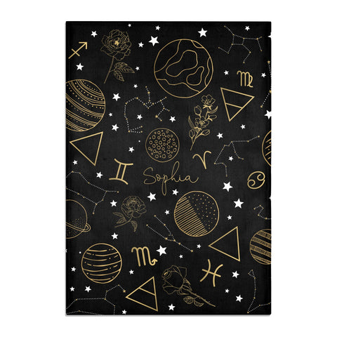 Personalised Stargazer Tea Towel