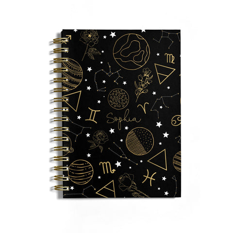 Personalised Stargazer Notebook