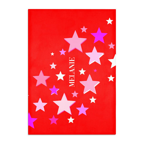 Personalised Stars Tea Towel