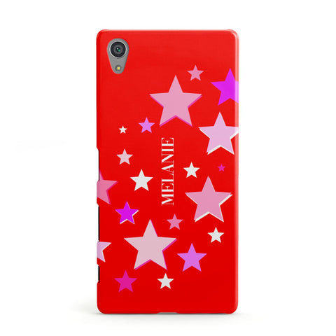 Personalised Stars Sony Case