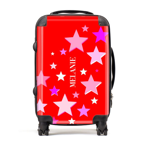 Personalised Stars Suitcase