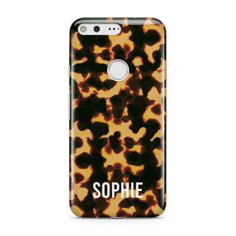 Personalised Tortoise Shell Pattern Google Case
