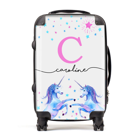 Personalised Unicorn Suitcase