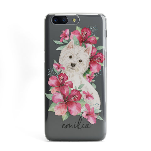 Personalised Westie Dog OnePlus Case