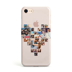 Photo Heart Collage Apple iPhone Case