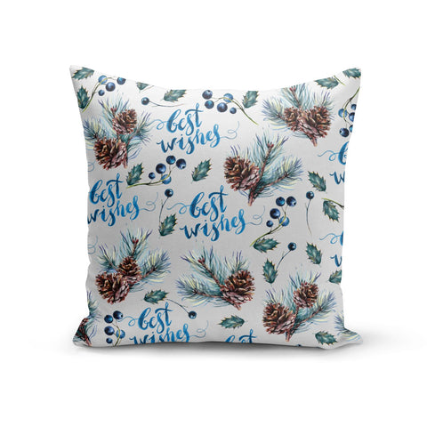Pine cones & wild berries Cushion