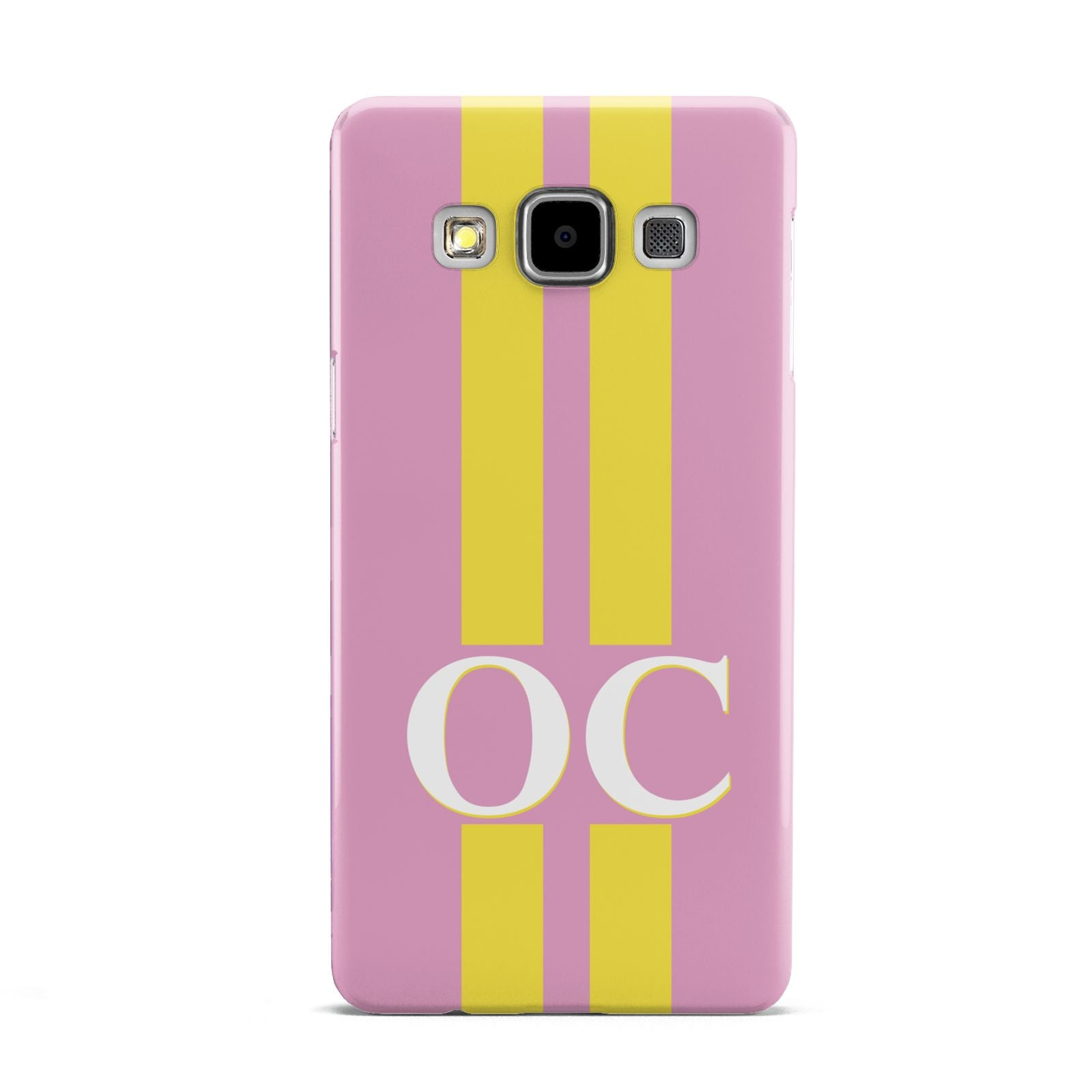 Pink Personalised Initials Samsung Galaxy A5 Case