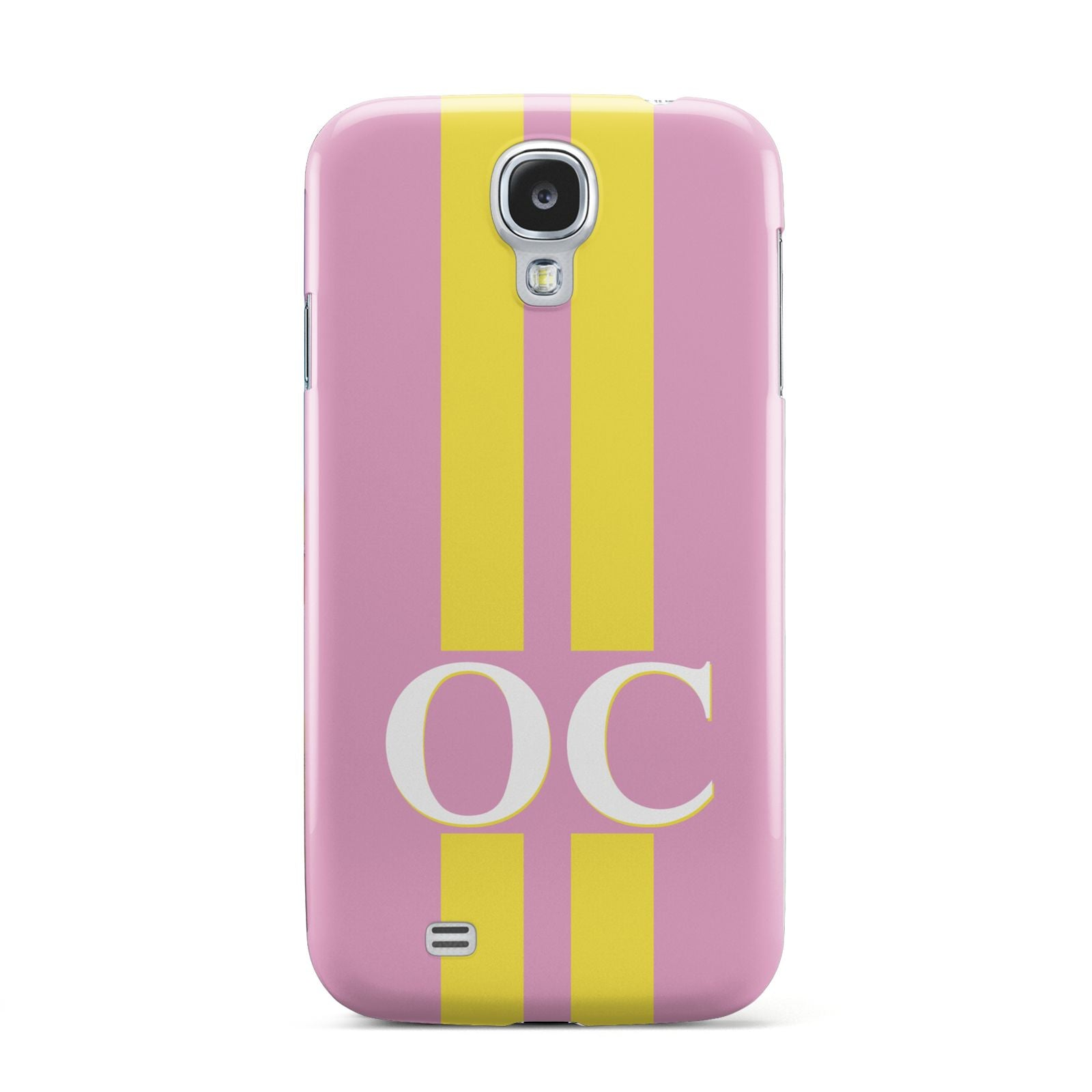 Pink Personalised Initials Samsung Galaxy S4 Case