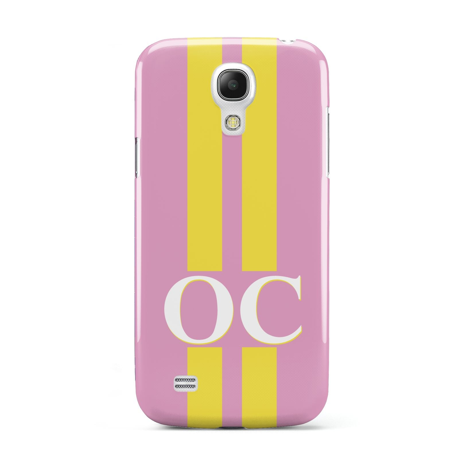 Pink Personalised Initials Samsung Galaxy S4 Mini Case