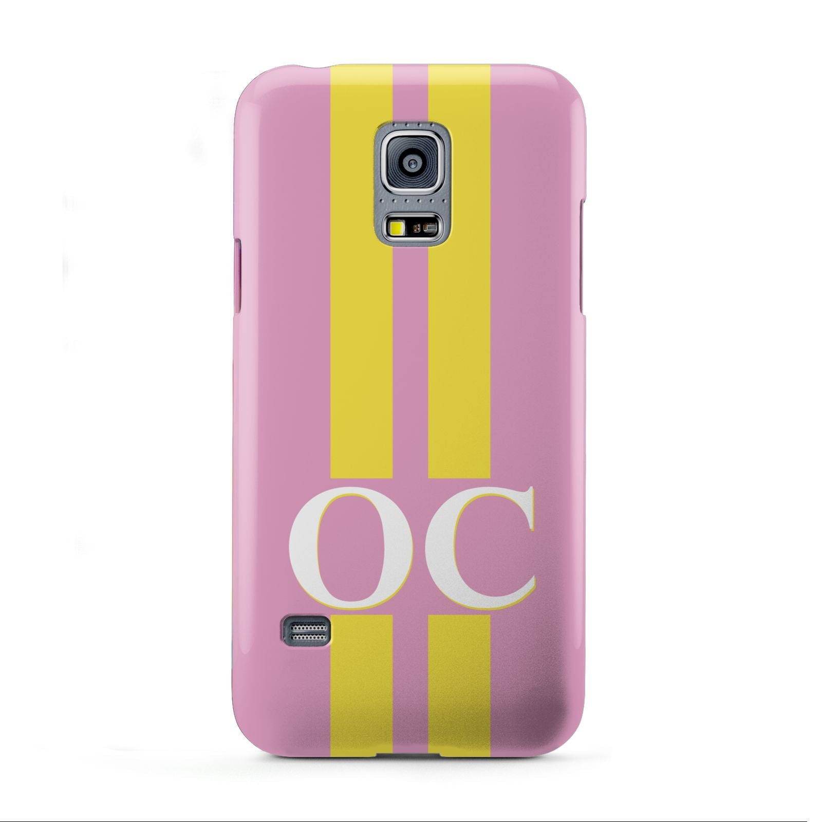 Pink Personalised Initials Samsung Galaxy S5 Mini Case