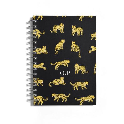 Prowling Leopard Notebook