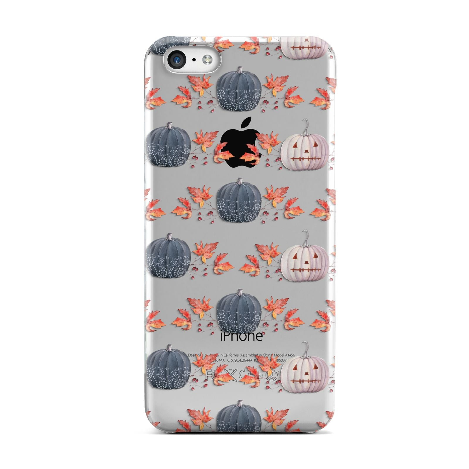 Pumpkin Autumn Leaves Apple iPhone 5c Case